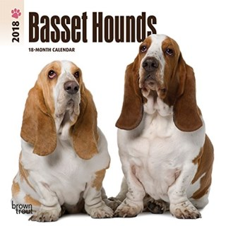 Basset Hounds 2018 7 x 7 Inch Monthly Mini Wall Calendar, Animals Dog Breeds Hound (Multilingual Edition)