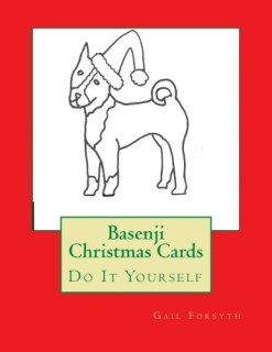 Basenji Christmas Cards: Do It Yourself