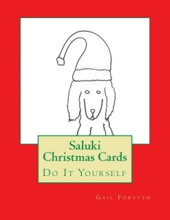 Saluki Christmas Cards: Do It Yourself