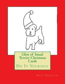 Glen of Imaal Terrier Christmas Cards: Do It Yourself