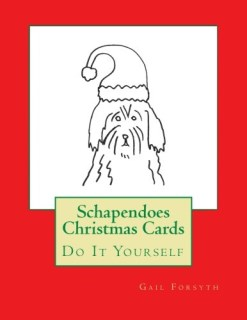 Schapendoes Christmas Cards: Do It Yourself