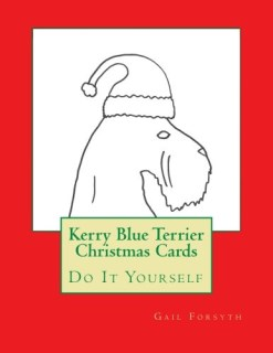 Kerry Blue Terrier Christmas Cards: Do It Yourself