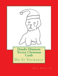Dandie Dinmont Terrier Christmas Cards: Do It Yourself