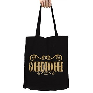 Idakoos - Goldendoodle ORNAMENTS URBAN STYLE - Dogs - Canvas Tote Bag