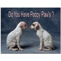 Poopy Paw's: Omaha's Professional Pet Waste Removal Service Omaha Nebraska Logo
