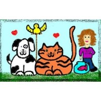 Little Buddies Pet Sitting Everett Washington Logo