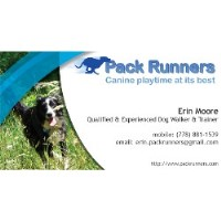 Pack Runners Dog Walking & Training Mission British Columbia Logo