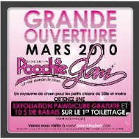 Salon Et Spa Poochie Glam (Grooming / Toilettage) Laval Quebec Logo