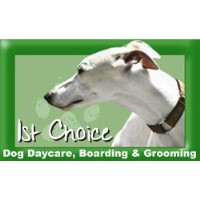 1st Choice Doggy Daycare, Boarding & Grooming Indianapolis Indiana Logo