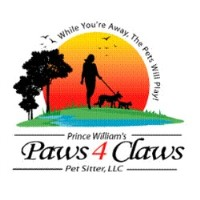 Prince William's Paws 4 Claws Pet Sitter, Llc Bristow Virginia Logo