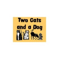 Two Cats And A Dog Pet Care Providence Rhode Island Logo