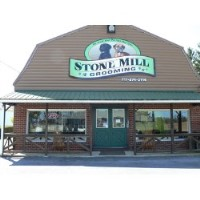 Stone Mill Grooming Doggy Daycare Lebanon Pennsylvania Logo