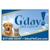 G'day! Pet Care - Long Island Farmingdale New York Logo