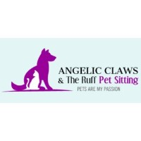 Angelic Claws and The Ruff Pet Sitting West Babylon New York Logo