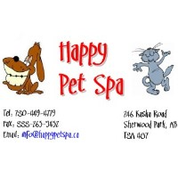 Happy Pet Spa Sherwood Park Alberta Logo