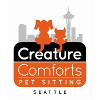 Creature Comforts Pet Sitting of Seattle Seattle Washington Logo