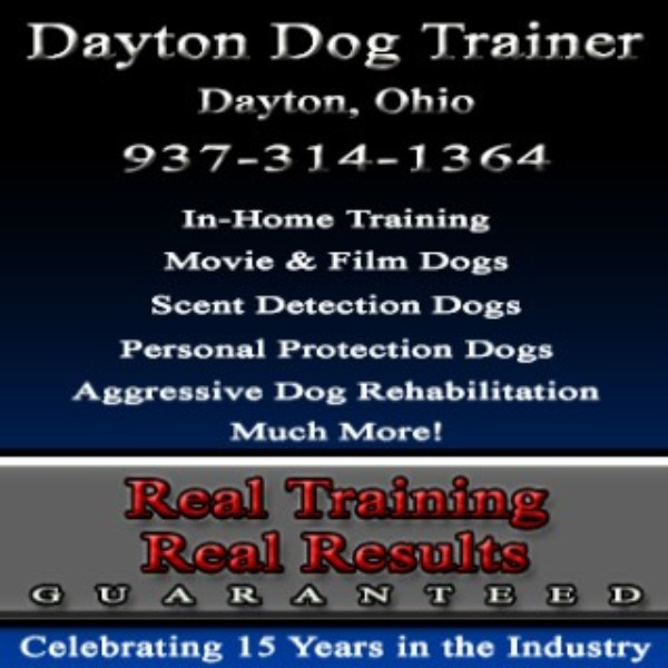Dayton Dog Trainer Dayton, Ohio & Surrounding Areas
