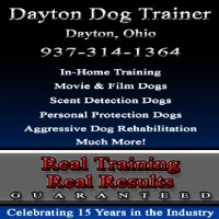 Dayton Dog Trainer Dayton, Ohio & Surrounding Areas Ohio Logo