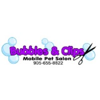 Bubbles & Clips Mobile Pet Salon Whitby Ontario Logo