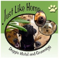 Just Like Home Doggie Hotel And Grooming Las Vegas Nevada Logo