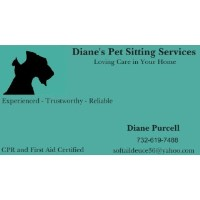 Diane's Pet Sitting Services Mcleansville North Carolina Logo
