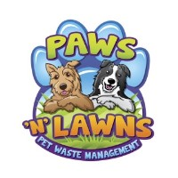 Paws and Lawns Pet Waste Management Trophy Club Texas Logo