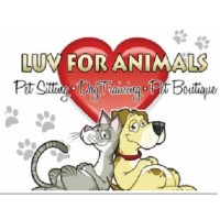 Luv For Animals Pet Sitting & Dog Training Crown Point Indiana Logo