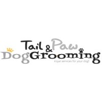 Tail and Paw Dog Grooming Cypress Texas Logo