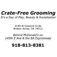Chris' Pet Grooming - Crate Free Broken Arrow Oklahoma Logo