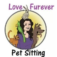 Love Fur-Ever Pet Sitting Elon North Carolina Logo