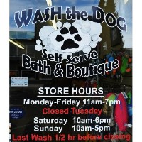 Wash The Dog Puyallup Washington Logo