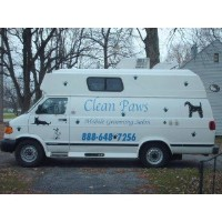 Clean Paws Mobile Pet Services Gary Indiana Logo
