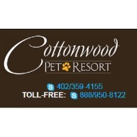 Cottonwood Pet Resort Waterloo Nebraska Logo