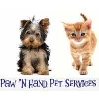 Paw 'n Hand Pet Services Dundee Illinois Logo