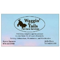 Waggin' Tails Pet Care Services Ashburnham Massachusetts Logo
