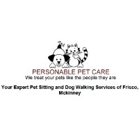 Personable Pet Care Frisco Texas Logo