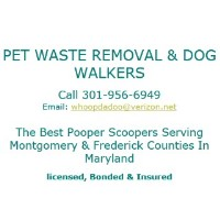 Whoop Da Doo, Pet Waste Removal Poolesville Maryland Logo