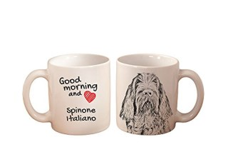 Spinone Italiano, mug with a dog,, cup, ceramic, new collection
