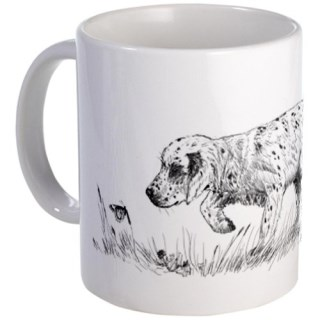 CafePress English Setter Puppy Mug - Standard
