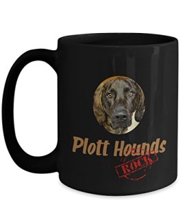 Plott Hounds Rock - Ceramic Coffee Mug