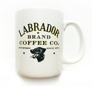 Labrador retriever dog 8 oz. coffee mug