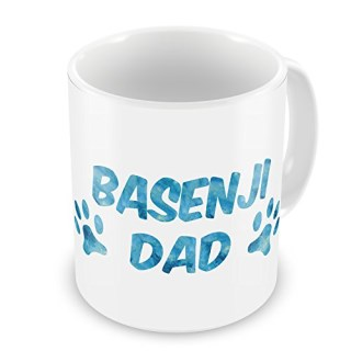 Coffee Mug Dog & Cat Dad Basenji - NEONBLOND