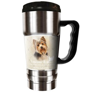 Howard Robinson - Yorkshire Terrier 20oz Vacuum Insulated Travel Mug