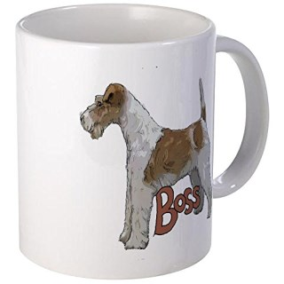 CafePress - Wirehaired Fox Terrier - Unique Coffee Mug, Coffee Cup