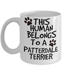 Patterdale Terrier Mug - White 11oz Ceramic Tea Coffee Cup - Perfect For Travel And Gifts
