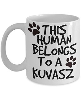 Kuvasz Mug - White 11oz Ceramic Tea Coffee Cup - Perfect For Travel And Gifts