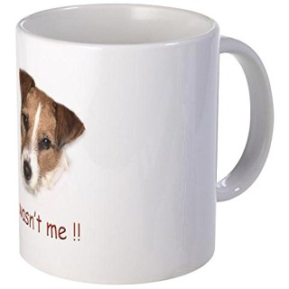 CafePress - Parson Russell Terrier, Jack Mug - Unique Coffee Mug, Coffee Cup