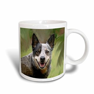 3dRose Australian Cattle Dog Mug, 15-Ounce