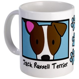 CafePress Anime Jack Russell Terrier Mug - Standard Multi-color
