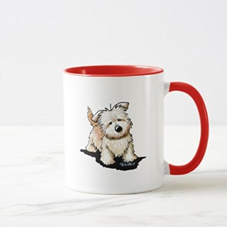 Zazzle Glen Of Imaal Terrier Mug, Red Combo Mug 11 oz
